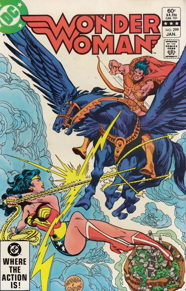 Couverture de Wonder Woman Vol.1 (DC Comics - 1942) -299- Target: Paradise!