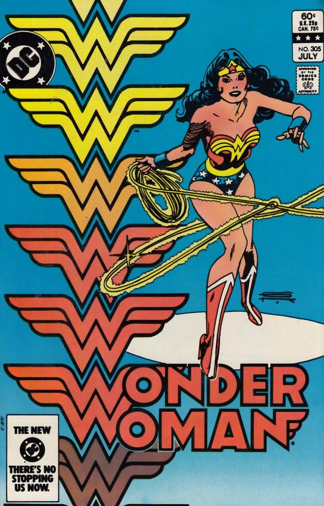 Couverture de Wonder Woman Vol.1 (DC Comics - 1942) -305- The Day of the Man-Beasts!