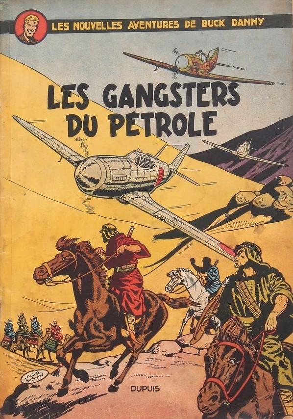 Couverture de Buck Danny -9- Les gangsters du pétrole