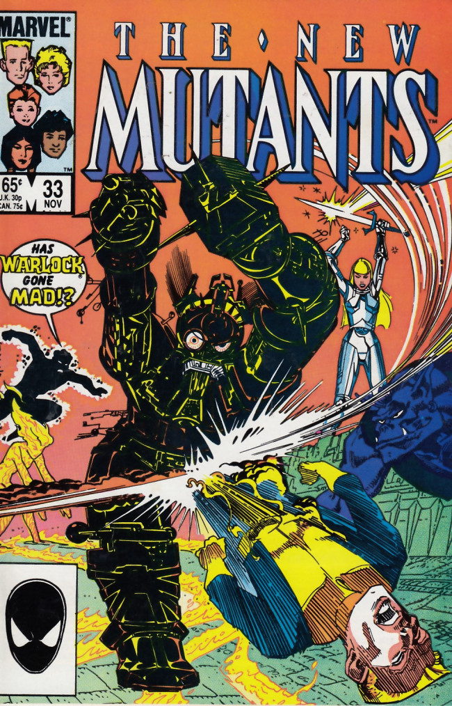 Couverture de New Mutants (The) (1983) -33- Against All Odds