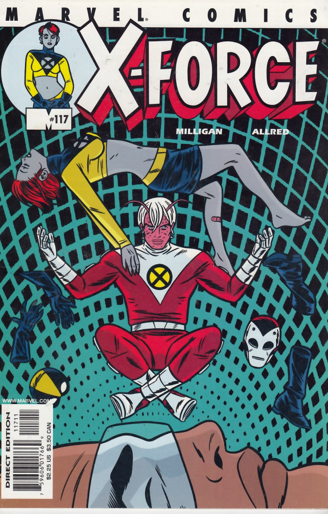 Couverture de X-Force Vol.1 (Marvel comics - 1991) -117- Mister Sensitive