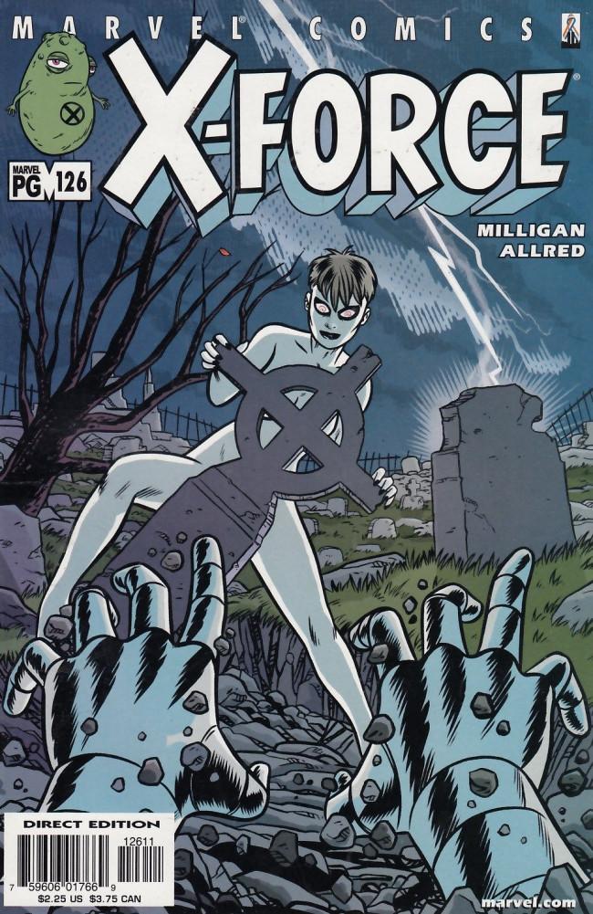 Couverture de X-Force Vol.1 (Marvel comics - 1991) -126- As I Die Lying