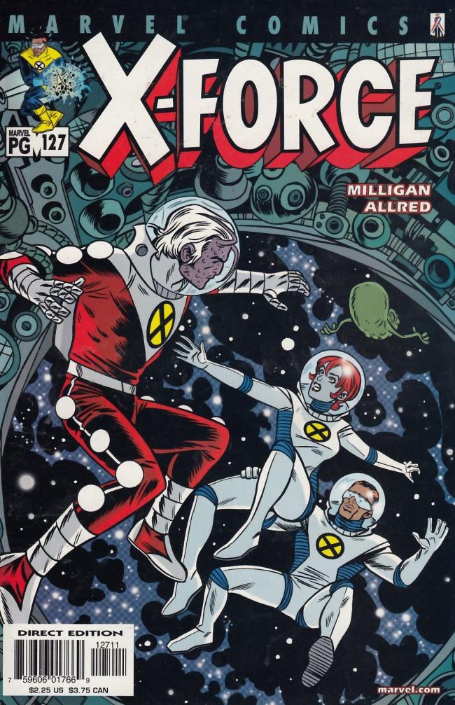 Couverture de X-Force Vol.1 (Marvel comics - 1991) -127- Because Louise