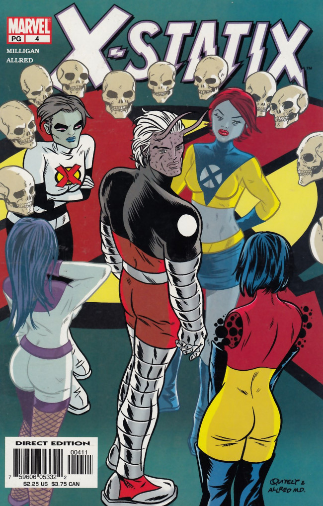 Couverture de X-Statix (2002) -4- Good Omens: Part 4 - Talking About Edie With Arnie