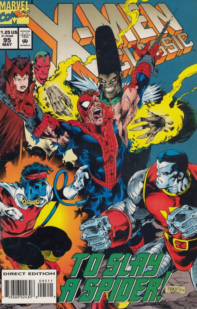 Couverture de X-Men Classic (1990) -95- Raiders of the Lost Temple