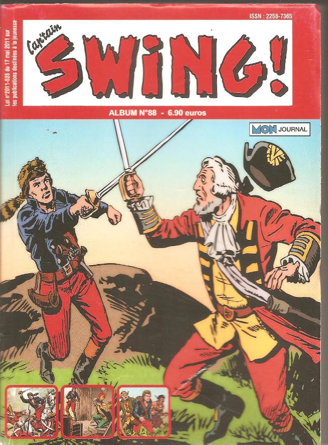 Couverture de Capt'ain Swing! (2e série - Mon Journal) -Rec88- Album N°88 (du n°264 au n°266)