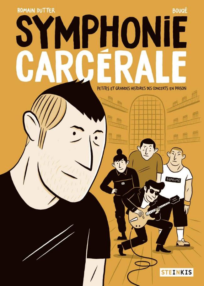 Couverture de Symphonie carcérale - Petites et grandes histoires des concerts en prison