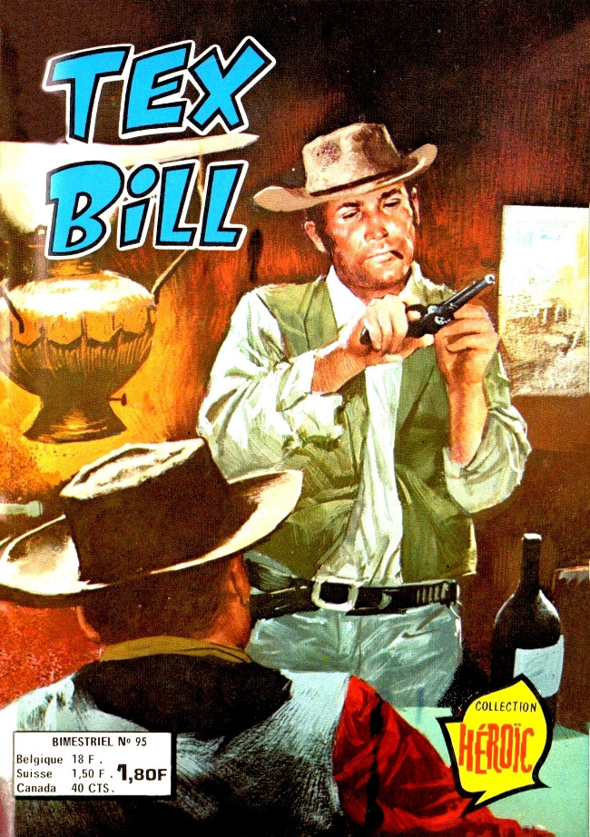 Couverture de Tex Bill -95- Affaire de contrebande