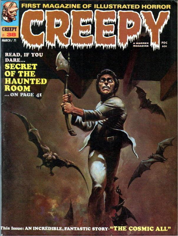 Couverture de Creepy (1964) -38- Secret Of The Haunted Room