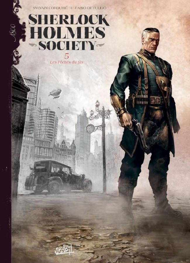 Couverture de Sherlock Holmes Society -5- Les Péchés du fils