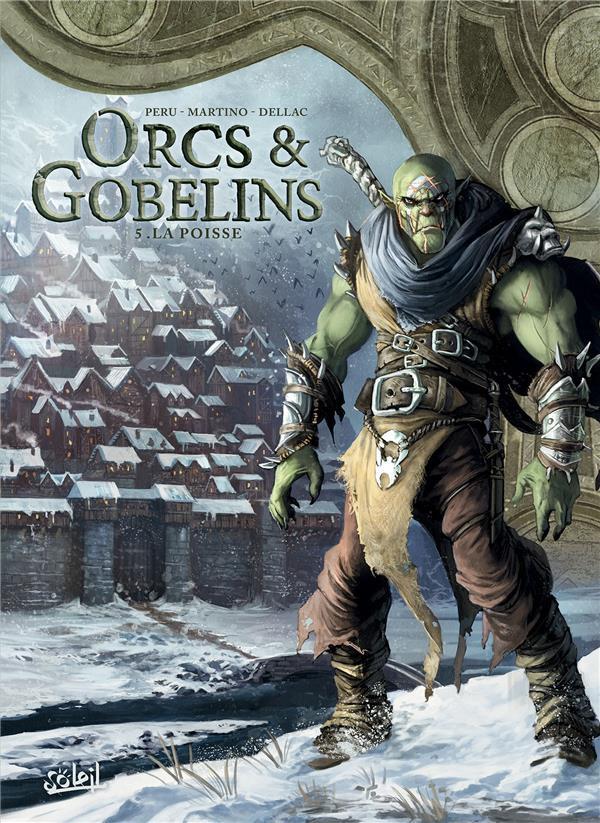 Couverture de Orcs & Gobelins -5- La poisse