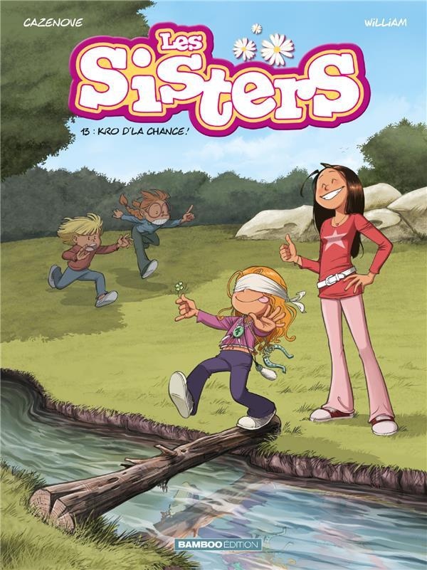 Couverture de Les sisters -13- Kro d'la chance !