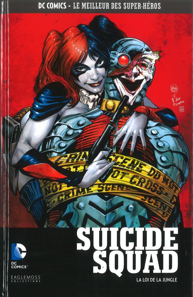 Couverture de DC Comics - Le Meilleur des Super-Héros -81- Suicide Squad - La Loi de la Jungle