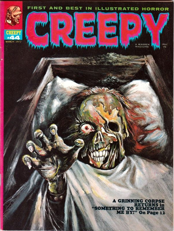 Couverture de Creepy (1964) -44- (sans titre)