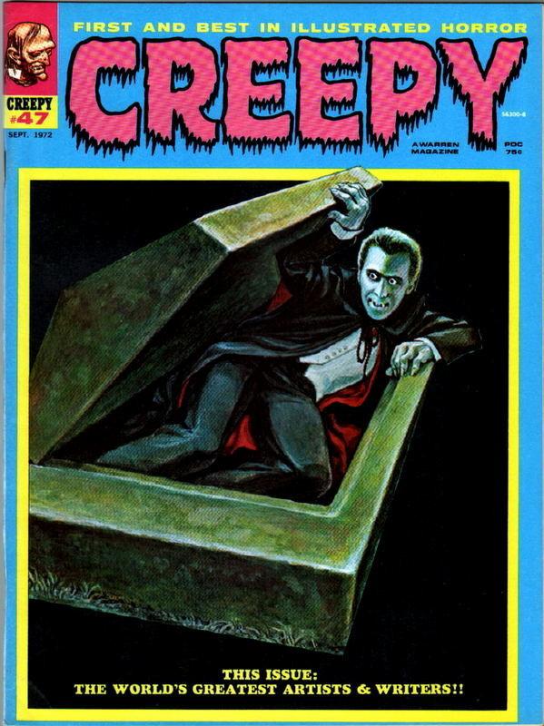 Couverture de Creepy (1964) -47- (sans titre)