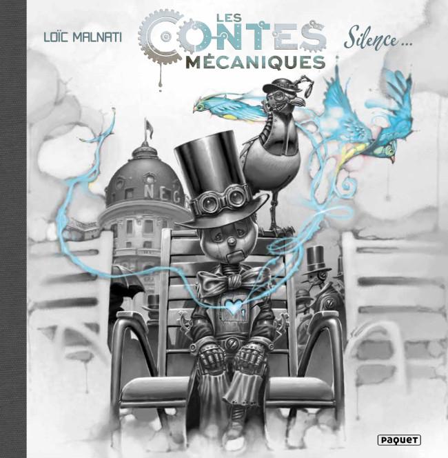 Couverture de Contes Mécaniques -1- Silence...