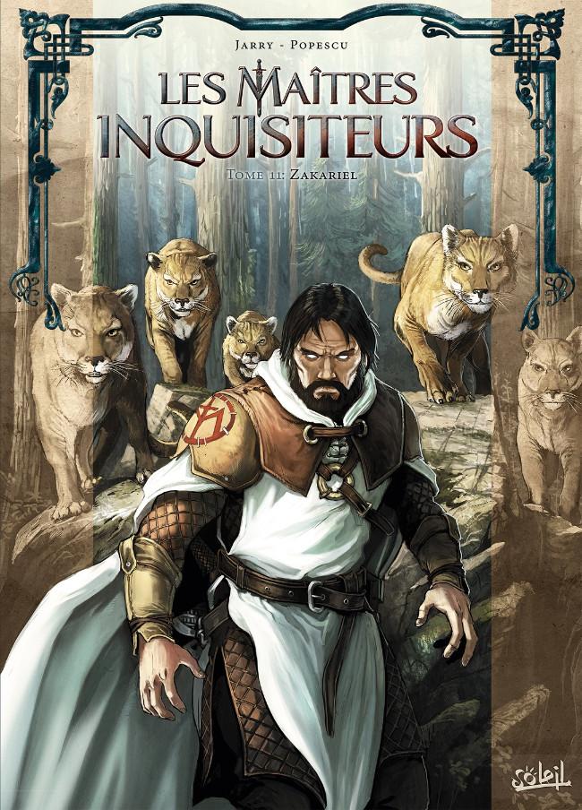 Couverture de Les maîtres inquisiteurs -11- Zakariel