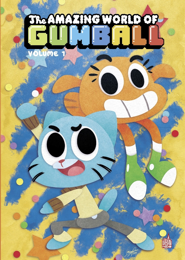 Couverture de Gumball (The Amazing world of) -1- Volume 1