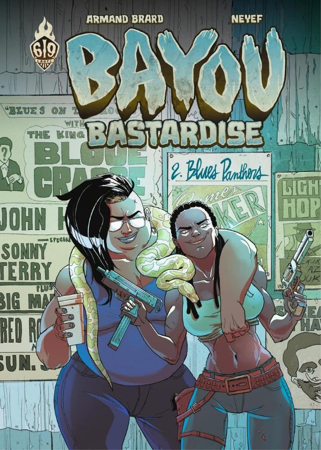 Couverture de Bayou Bastardise -2- Blues Panthers