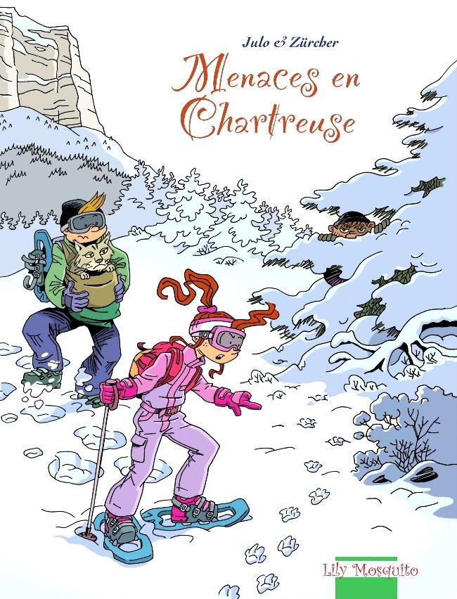Couverture de Aventures en Chartreuse -2- Menaces en Chartreuse