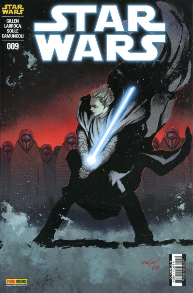 Couverture de Star Wars (Panini Comics - 2017) -9- Les Ténèbres étouffent la Lumière