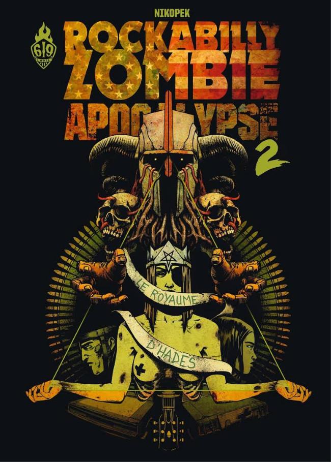 Couverture de Rockabilly Zombie Apocalypse -2- Le Royaume d'Hades