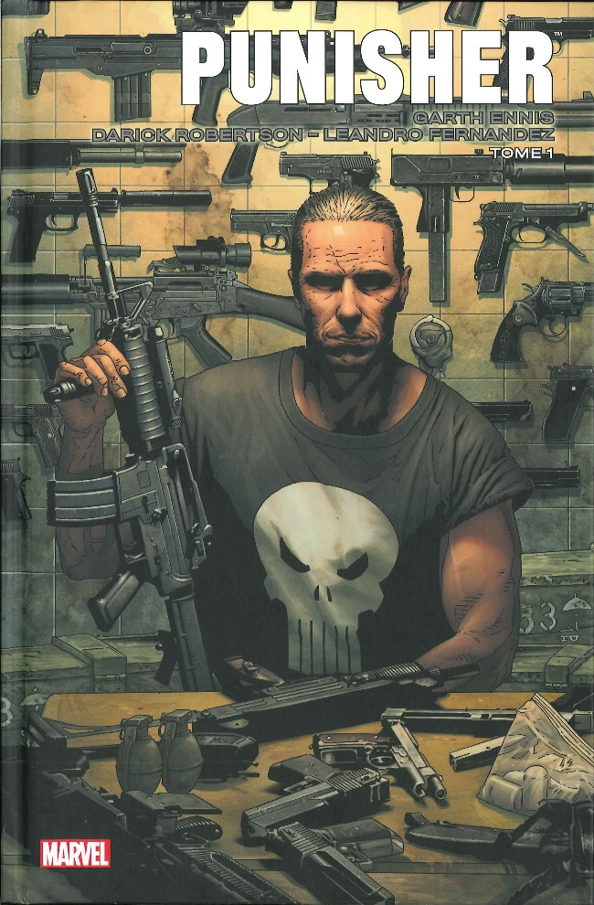 Couverture de Punisher Max (Marvel Icons) -1- Tome 1