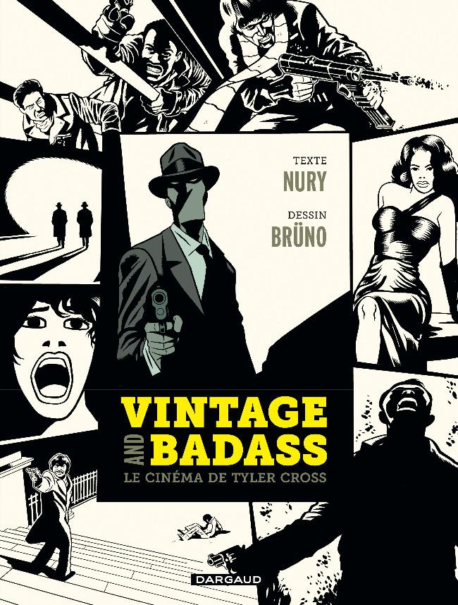 Couverture de Tyler Cross -HS- Vintage et Badass, le cinéma de Tyler Cross