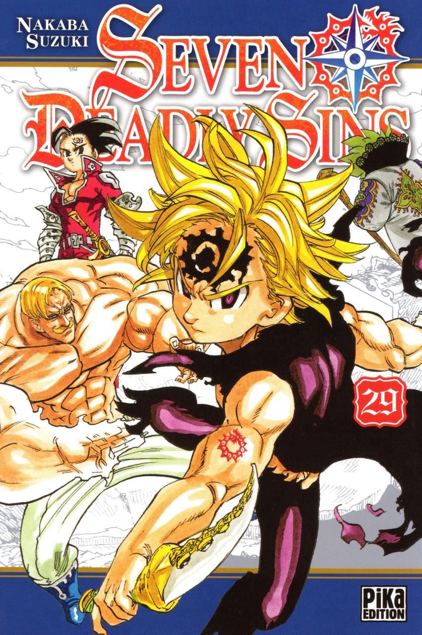 Couverture de Seven Deadly Sins -29- Tome 29