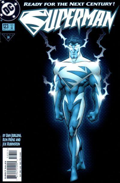 Couverture de Superman (1987) -123- Superman...Reborn!
