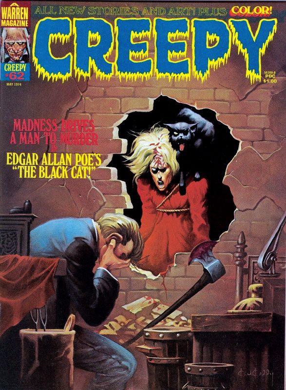 Couverture de Creepy (1964) -62- The Black Cat