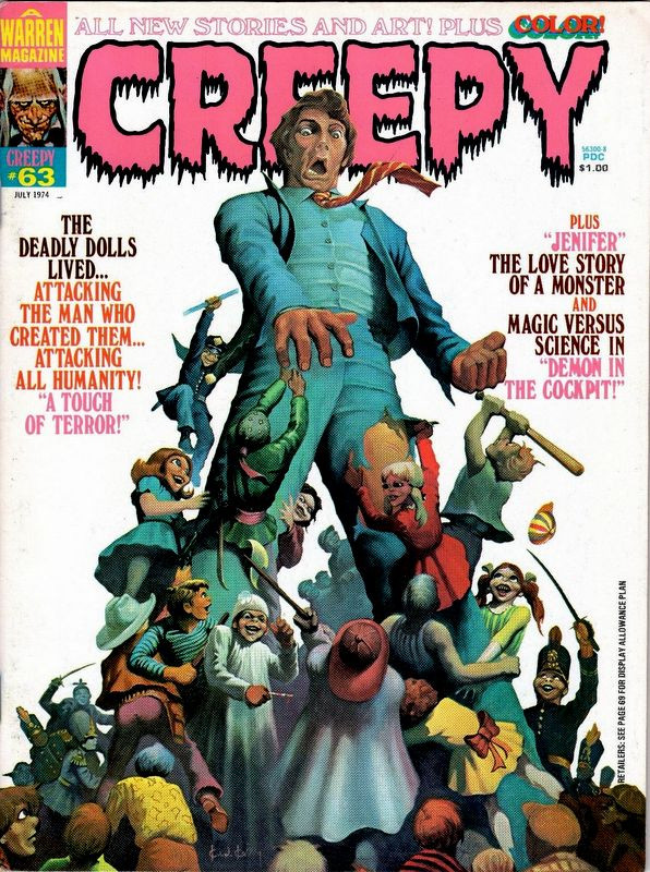 Couverture de Creepy (1964) -63- A Touch of Terror