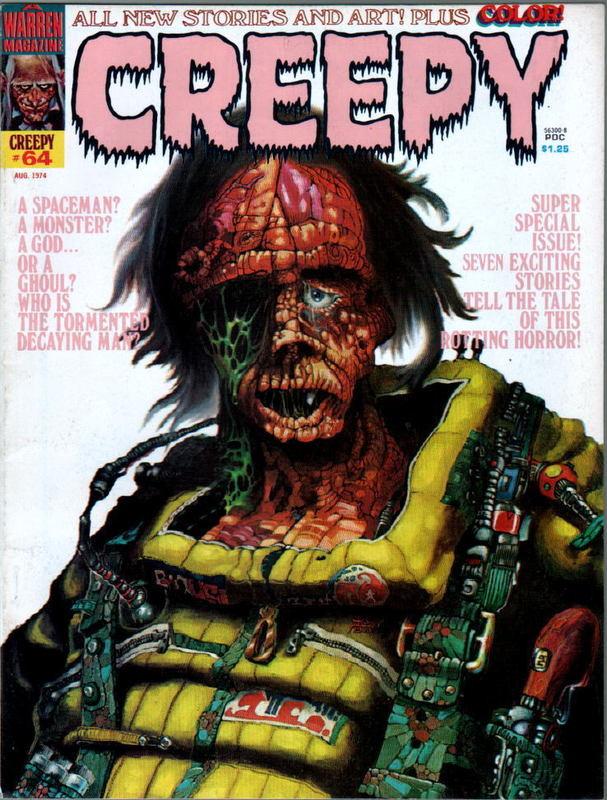 Couverture de Creepy (1964) -64- (sans titre)