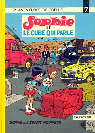 Couverture de Sophie (Jidéhem) -7- Sophie et le cube qui parle