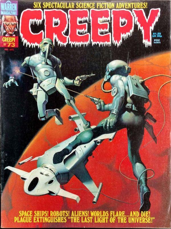 Couverture de Creepy (1964) -73- (sans titre)