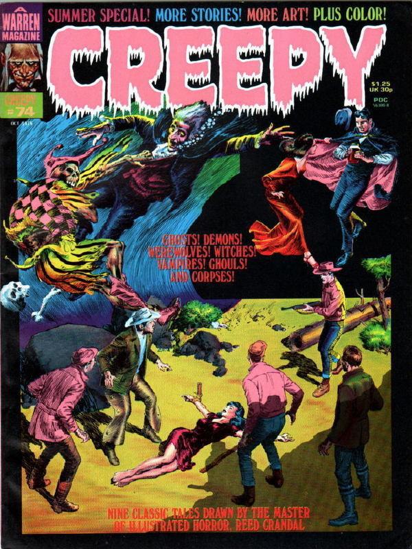 Couverture de Creepy (1964) -75- (sans titre)