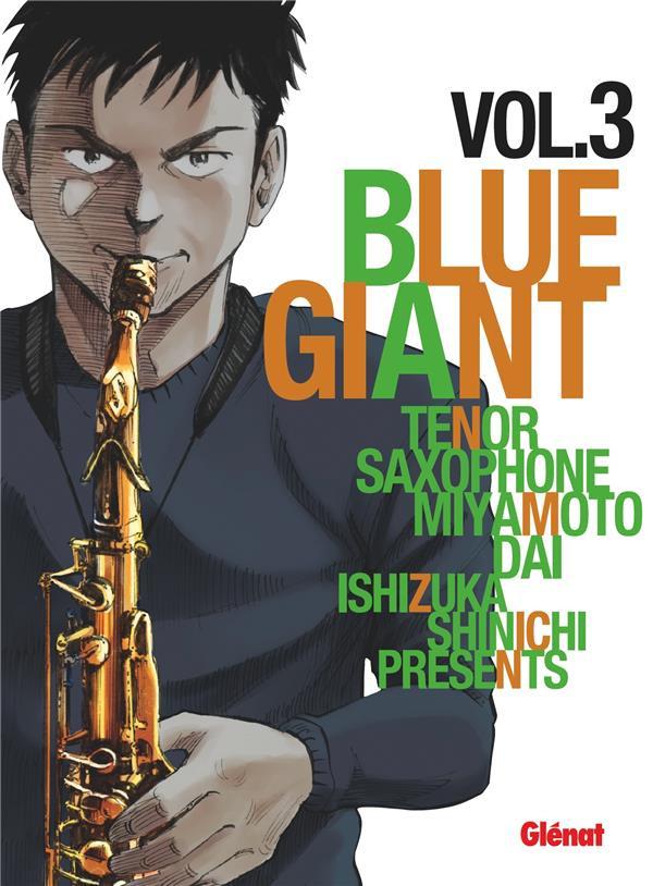 Couverture de Blue Giant -3- Tome 3