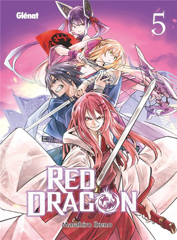Couverture de Red Dragon -5- Tome 5