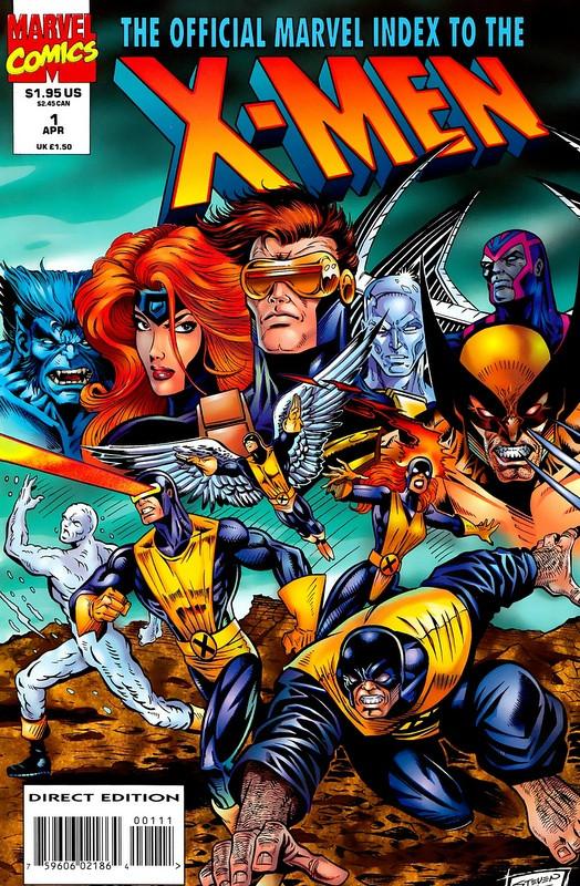 Couverture de Official Marvel index to the X-Men (The) (1994) -1- The Official Marvel index to the X-Men Vol. 2 No.1