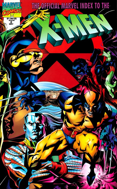 Couverture de Official Marvel index to the X-Men (The) (1994) -2- The Official Marvel index to the X-Men Vol. 2 No.2