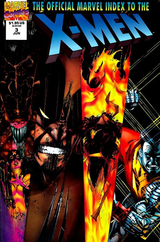 Couverture de Official Marvel index to the X-Men (The) (1994) -3- The Official Marvel index to the X-Men Vol. 2 No.3