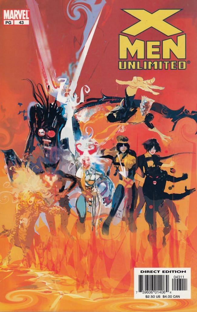 Couverture de X-Men Unlimited (1993) -43- Keepsake