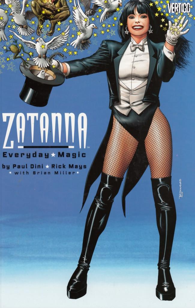 Couverture de Zatanna: Everyday Magic (2003) - Zatanna: Everyday Magic