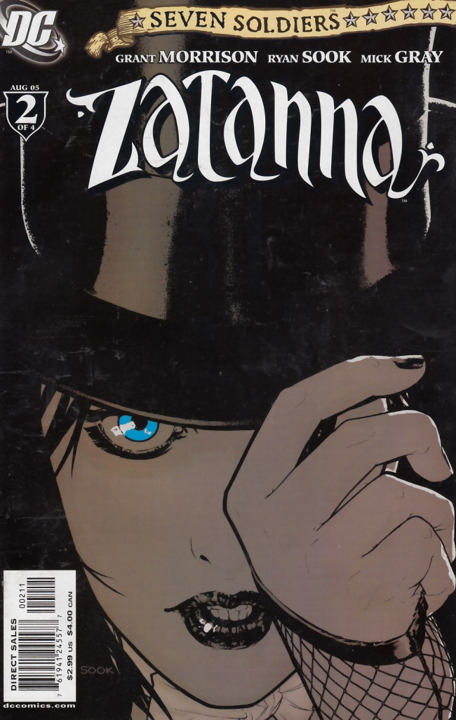 Couverture de Seven Soldiers: Zatanna (2005) -2- A Book in the Beginning