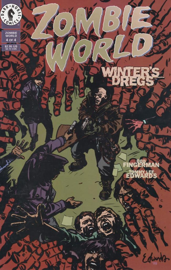 Couverture de ZombieWorld: Winter's Dregs (1998) -4- ZombieWorld: Winter's Dregs #4