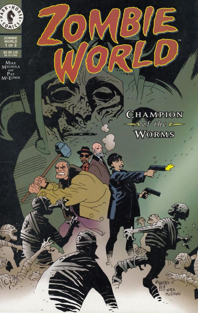 Couverture de ZombieWorld: Champion of the Worms (1997) -1- ZombieWorld: Champion of the Worms #1