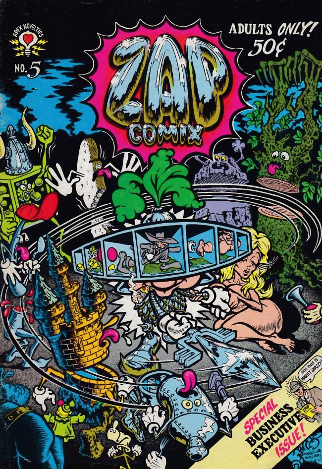 Couverture de Zap Comix (1967) -5- Zap Comix #5