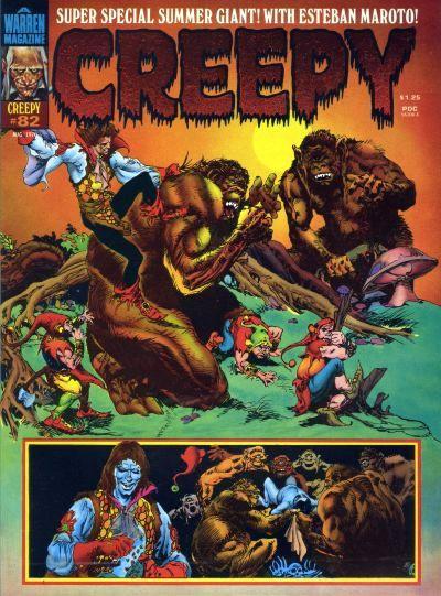 Couverture de Creepy (Warren) -82- (sans titre)