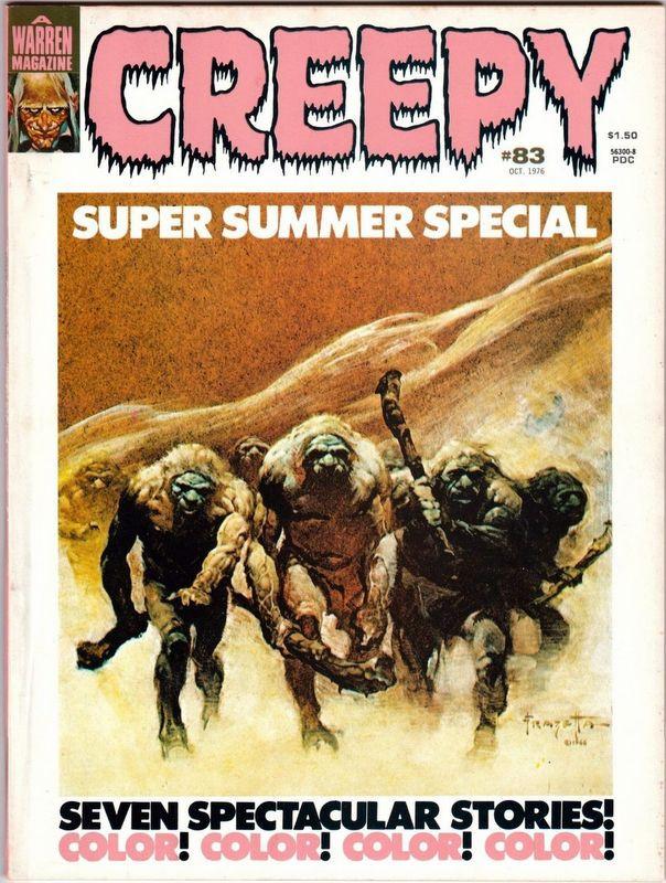 Couverture de Creepy (Warren) -83- (sans titre)