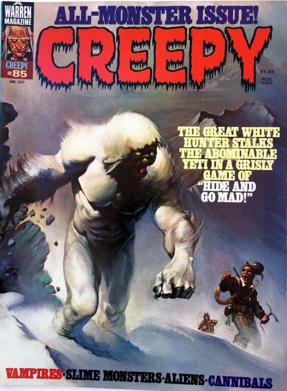Couverture de Creepy (Warren) -85- Hide and Go Mad